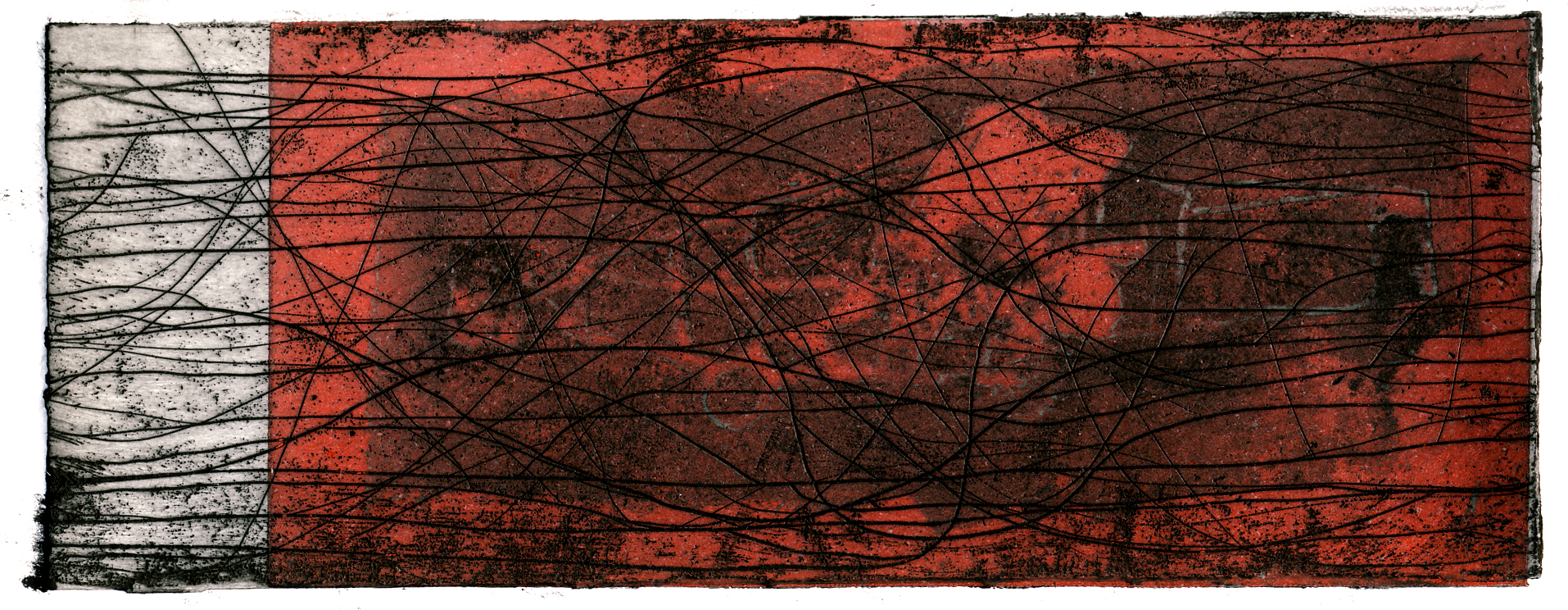 Two plate colour etching, 2010